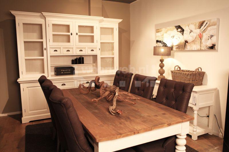 Woonkamer wit landelijk for Compleet interieur woonkamer
