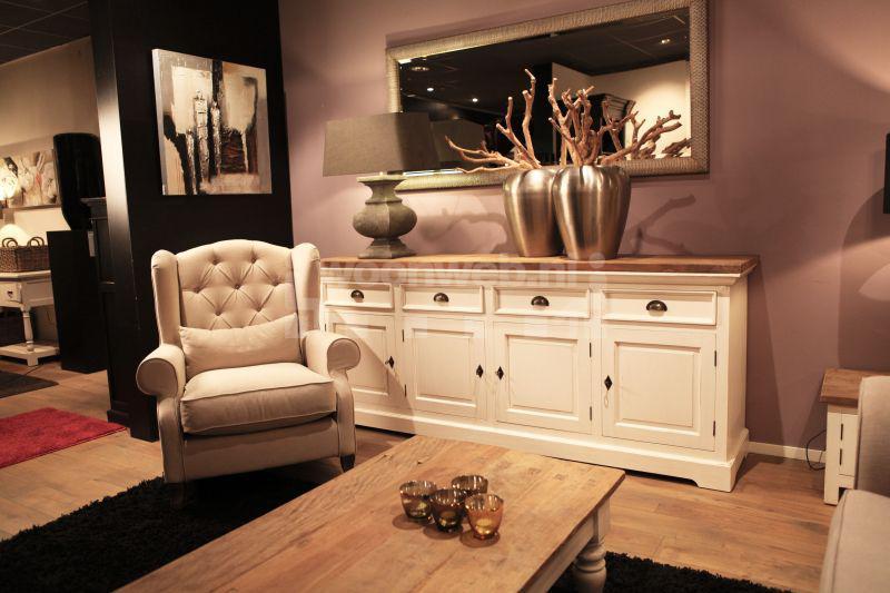 Witte Woonkamer Set : Woonkamer Oriental Creme Teak Laagste prijs bij ...