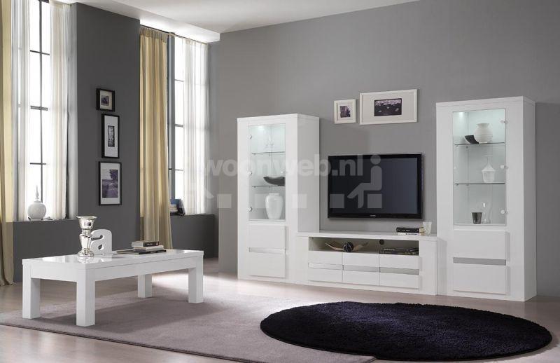 Witte Woonkamer Set : Woonkamer met witte meubels mooi modern huis woonkamer meubels