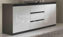 Roma Dressoir Klein Black White
