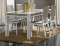 Noto Eettafel White Grey