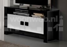Pisa TV-Kast Black White