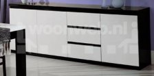 Roma Dressoir Groot Black White
