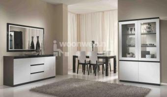 Woonkamer Roma Black White